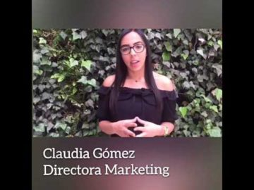 Claudia Gòmez - Directora de Marketing