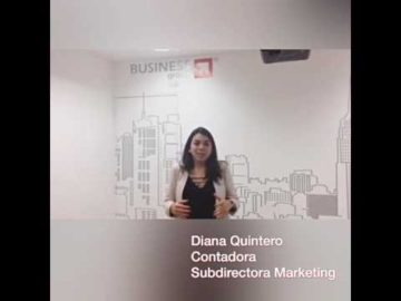 Diana Quintero - Subdirectora de Marketing